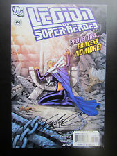 LEGION OF SUPER-HEROES #39 -  SIGNED BY FRANCIS MANAPUL! DC COMICS