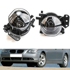 Pair Front Fog Lights Bumper Lamps For BMW E60 E61 E63 E46 X3 325i 525i WithBlub