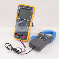 Fluke 17B+ Digital meter backlight Multimeter  + HoldPeak HP-605A Clamp Adapter