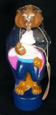 Vintage beauty and the beast bubble bath bottle still sealed Disney Collectible