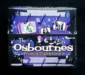 2002 Inkworks The Osbournes Premium Trading Cards Factory Sealed Box ~Case Fresh