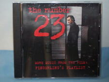 The Number 23 More Music From The Film Fingerling's Playlist 2007 CD New Line