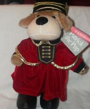 """FAO SCHWARZ MASCOT  PATRICK THE PUP SOLDIER 13"""" FAO  FOUNDATION NEW TOYS R US"""