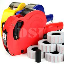 NEUF MX5500 Prix Gun Étiqueteuse Shop Office gratuit 10 Rolls Prix étiquette De rechange encre