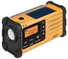 SANGEAN MMR-88 FM/AM/Handcrank/Solar/Emergency Alert Radio (YELLOW)