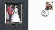 G.B. 2011 Royal Wedding, Buckingham Covers, First Day Cover, Middleton St,