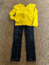 Girls Jeans/ Top Lot. Mudd Jeans/ Gap Shirt