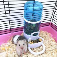 Automatic Pet Hamster Rabbit Food Water Bowl Bottle Dog Bottle Dispenser Feeder/