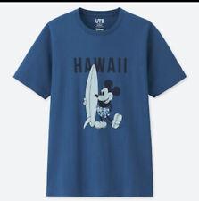 UNIQLO MICKEY MOUSE SURF HAWAII Shirt SZ Meduim Nwt