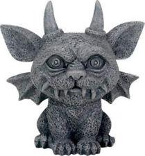 Summit Collection 3.25 Inch Medieval Dark Grey Winged Gothic Gargoyle Guardian