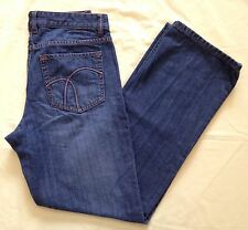 MISSES SIZE 6 REGULAR ~ LIZ CLAIBORNE MEDIUM BLUE DENIM JEANS