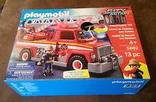 USA PLAYMOBIL City Action Feuerwehr Firefighter Nr 5682 Sound & Licht Neu & OVP