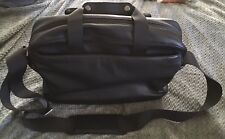 MOLESKINE Black PU CLASSIC UTILITY Laptop Bag Business Carrier-VERY NICE