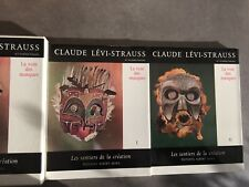 Levi-Strauss La voie des masques 2 volumes / boitier Sentiers de la création