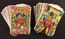 THE DEMON #1 - 35 Comic Books FULL RUN Lobo Etrigan DC 1990 Alan Grant VF