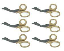 6 Military Utility Scissors Emtems Shears Bandage Paramedic Nurse Supply 725