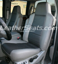 2002-2003 Ford F-250 F-350 Lariat Leather Seat Covers Custom Interior Upholstery