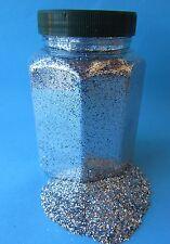 """Glitter Glitterstaub Farben Silber pro Dose Inhalt 350g """"Hohe Qualität"""" °19400"""