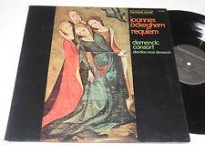 JOANNES OCKEGHEM Requiem NM Clemencic Consort Gregorian Kyrie Harmonia HM 999 K
