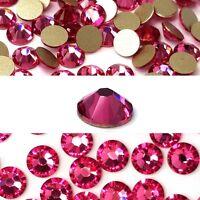 144 Swarovski 2058 5ss crystal flatbacks rhinestones nail art ss5 ROSE (209)