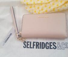 Selfridges Michael Kors Soft Pink Phone Purse Wallet Wristlet