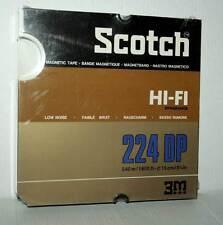 SCOTCH DP224 DYNARANGE HI-FI REVOX AMPEX MAXELL NUOVO SIGILLATO FR1 40886