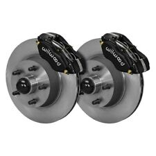 For Ford Mustang 70 Brake Kit Street Performance Plain Rotor Forged Dynalite-M