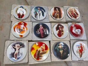 marilyn monroe collector plates