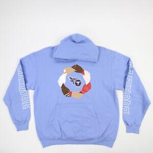 Tennessee Titans Port & Company Sweatshirt Men's Light Blue Used