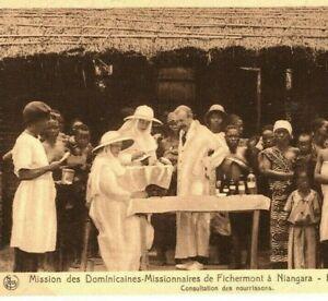 BELGIAN CONGO Postcard *Dominican Nun* MISSIONARY PPC *Niangara* 1925 Eire FC118