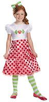Strawberry Shortcake Classic Child Girls Costume Pink Fancy Dress Disguise