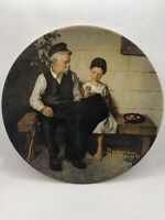 Norman Rockwell The Lighthouse Keepers Daughter Plate 1979 Vintage Numbered