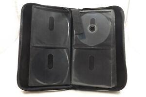 Hama CD DVD Blue Ray Tasche Aufbewahrung schwarz für 64 Discs neuwertig