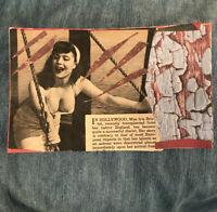 "Mail Art Original COLLAGE by Steve Camaro - Vintage Image Art ""Her Story..."""