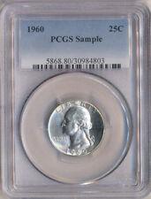 1960 Washington Quarter 25C PCGS Sample