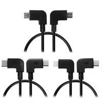 Micro USB to Micro USB/Type-C/Lightning Data Cable for DJI SPARK/MAVIC PRO Phone