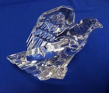 "Signed Steuben Crystal Glass Large 4.5"" American Eagle Figurine"
