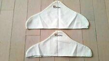 Valentino Red Logo White Hanger Covers set of 2