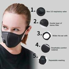 Anti Pollen Allergy Face Mask Fog Haze Pollution Dust Breath Protection WASHABLE