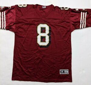 Vintage 1995 San Francisco 49ers Size XXL Steve Young #8 NFL Starter Jersey