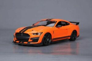 Maisto 2020 Ford Mustang Shelby GT500 Die Cast Car Model 1:18 Scale Orange
