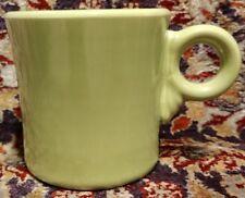 CLEAN Vintage ~ Fiestaware Fiesta 50's Chartreuse Tom & Jerry Ring Mug