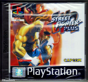 PS1 Street Fighter EX2 Plus, New & Sony Factory Sealed