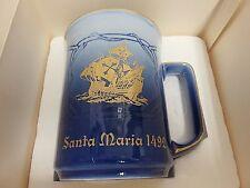 B&G 1978 First Edition Santa Maria 1492 Porcelain Mug Bing & Grondahl Denmark