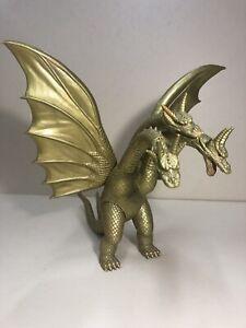 Vintage 1998 King Ghidorah Godzilla Soft Vinyl figure Japan Bandai Kaiju import