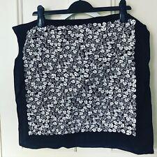 Rare MIGHTY BOOSH Black & White Skull Print Bandana / Handkerchief
