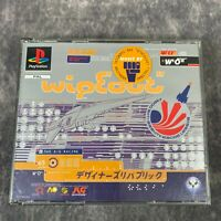 Wipeout PS1 PlayStation 1 PAL Game Complete Original Rare Big Box Racer