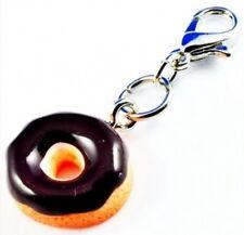 Donut 3D Charm Muffin  Anhänger Kuchen bunt Metall Cake Bettelarmband C609