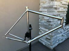 2010 Cannondale Capo 58cm Frame Track / Fixie Polished Aluminum Rare