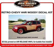 Chevrolet HHR Retro Woody Woodgrain Graphics Kit   decal